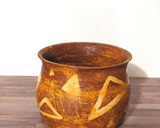 A unique rustic planter for your succulents.