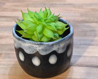 A sweet little planter for your window sill.