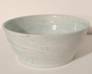 A lovely marbled serving bowl for your table.