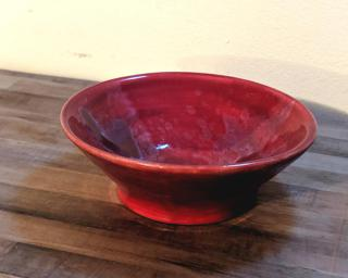 A sweet little summer bowl for your dresser or desk.