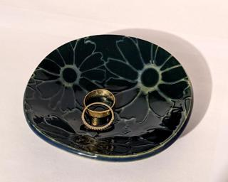 A lovely little dish for your dresser.