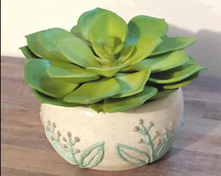 A sweet little summer planter for your table.